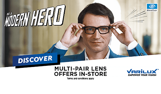 6e9bf71481 Buy one pair of glasses with Essilor Crizal UV lenses and get a second pair  HALF PRICE!