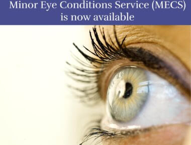 Minor Eye Conditions Service (MECS)