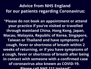 Coronavirus advice canterbury