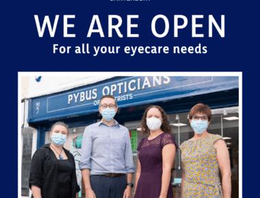 Pybus Optician Canterbury Open