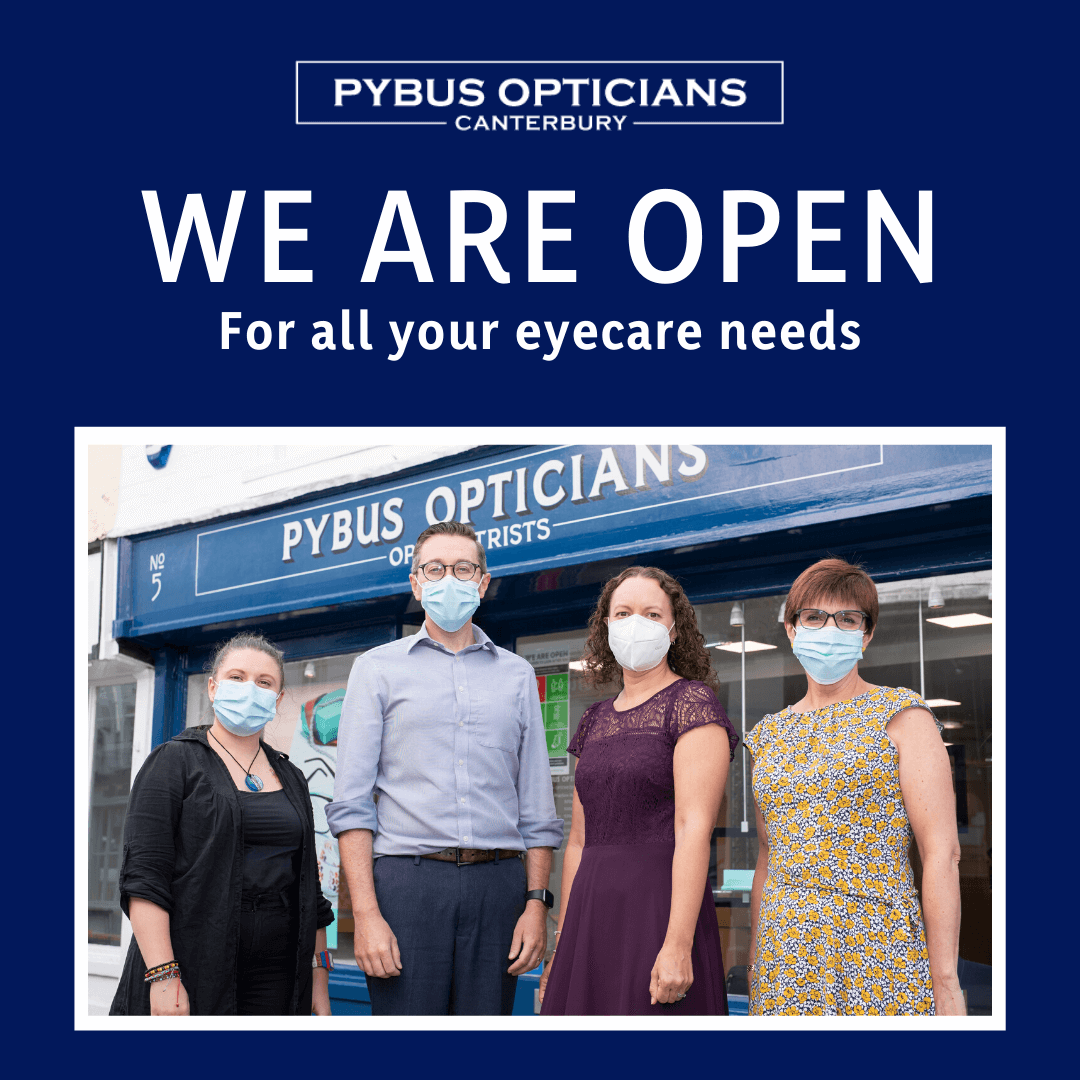 Pybus Optician Canterbury Open